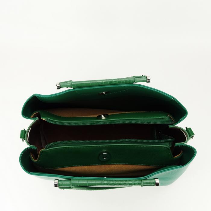 Geanta verde medie Alisa 4