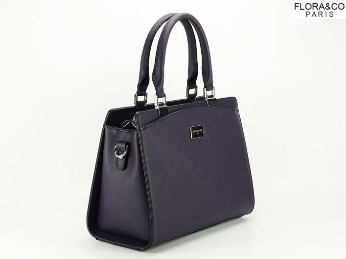 Geanta dama office violet Jeffery 1