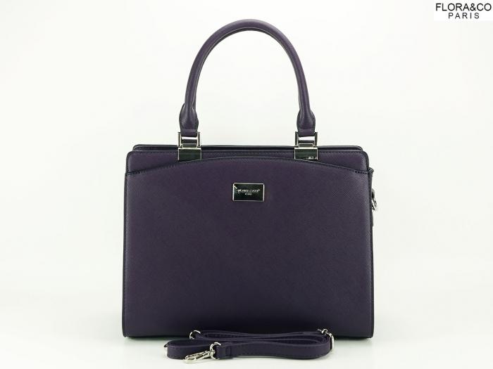 Geanta dama office violet Jeffery 2