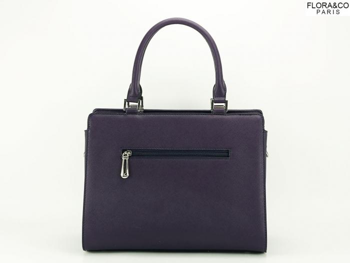 Geanta dama office violet Jeffery 4