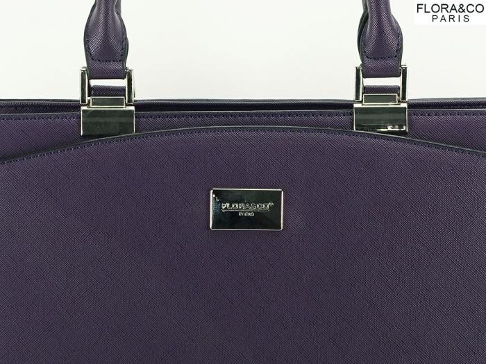Geanta dama office violet Jeffery 3
