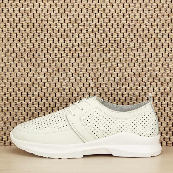 Pantofi albi din piele naturala Angela [0]