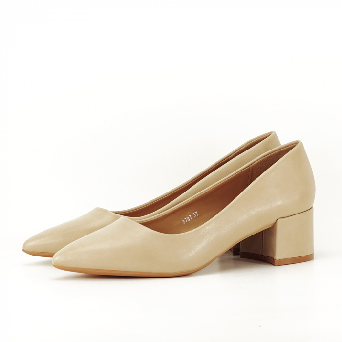 Pantofi bej Anita 1