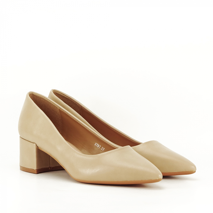 Pantofi bej Anita 3