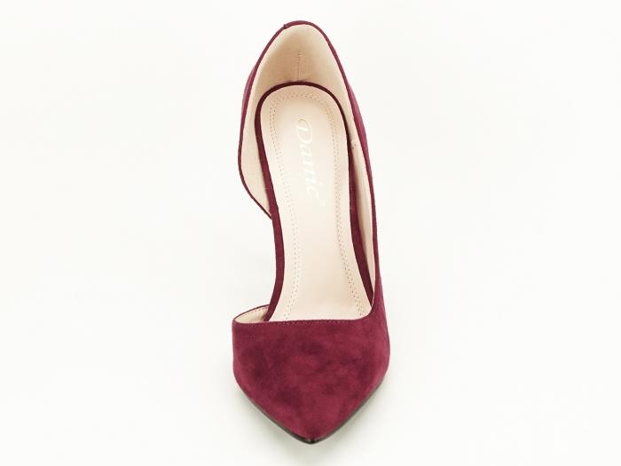 Pantofi stiletto bordo decupati lateral Aniston 6