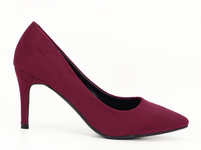 Pantofi eleganti bordo Hilda 0