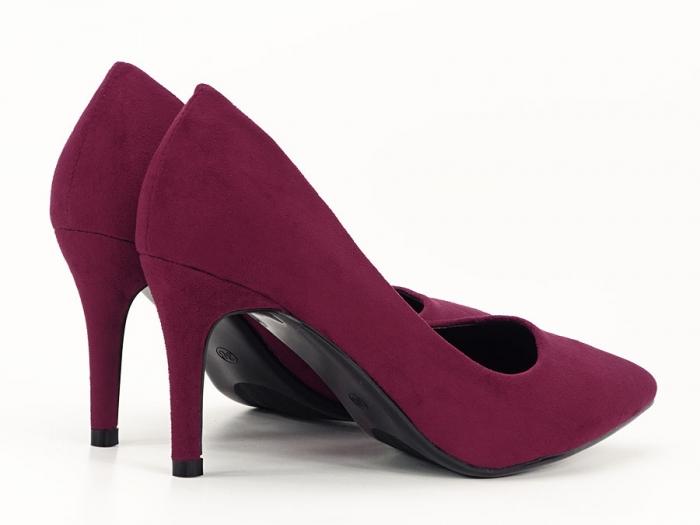 Pantofi eleganti bordo Hilda 1