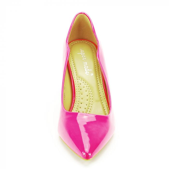 Pantofi fuxia lacuiti Tiffany 5