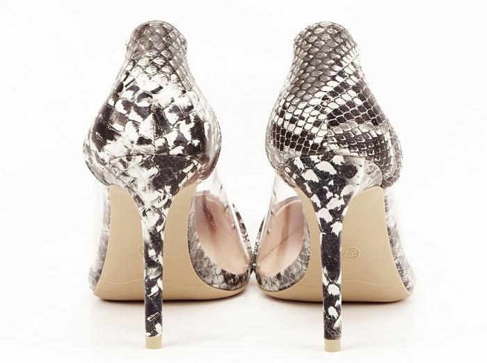 Pantofi cu imprimeu leopard si silicon lateral Athena 4