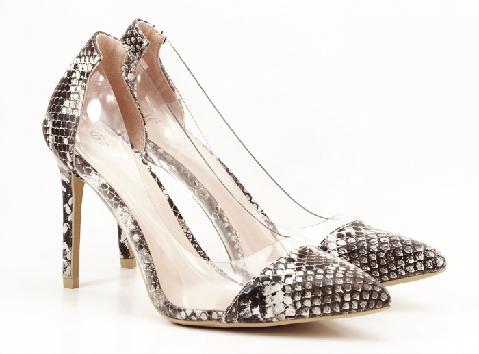 Pantofi cu imprimeu leopard si silicon lateral Athena 1