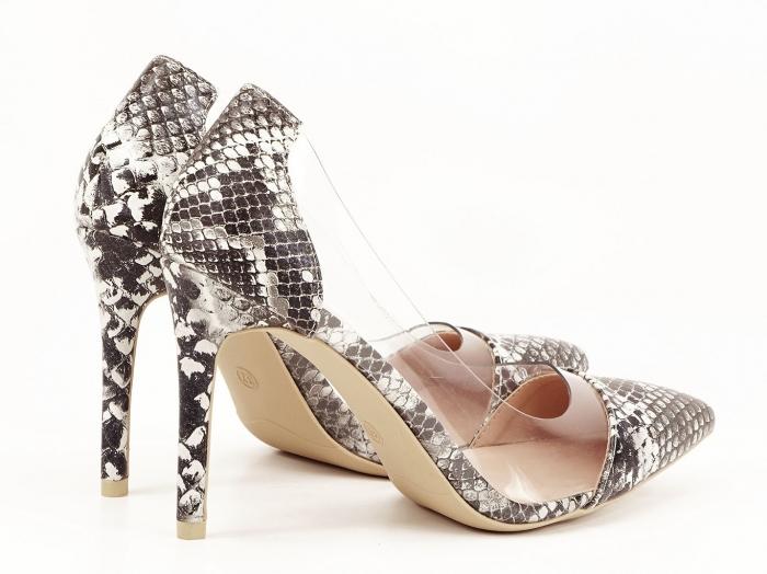 Pantofi cu imprimeu leopard si silicon lateral Athena 3