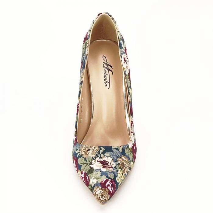 Pantofi cu imprimeu floral Rosa 6