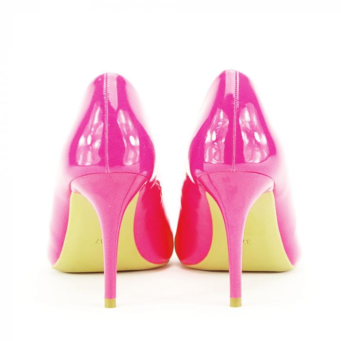 Pantofi fuxia lacuiti Tiffany 6