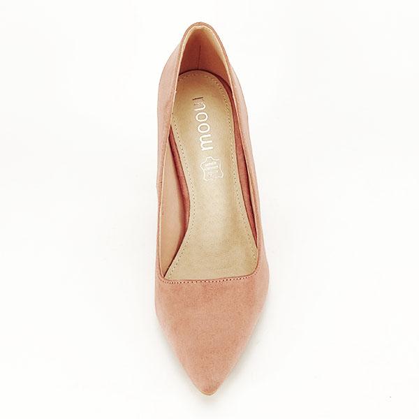 Pantofi cu toc nude Leila 1