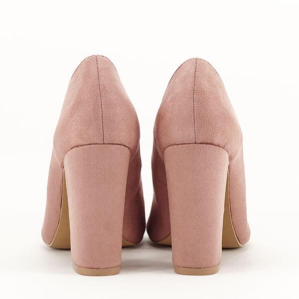 Pantofi cu toc nude Leila 6