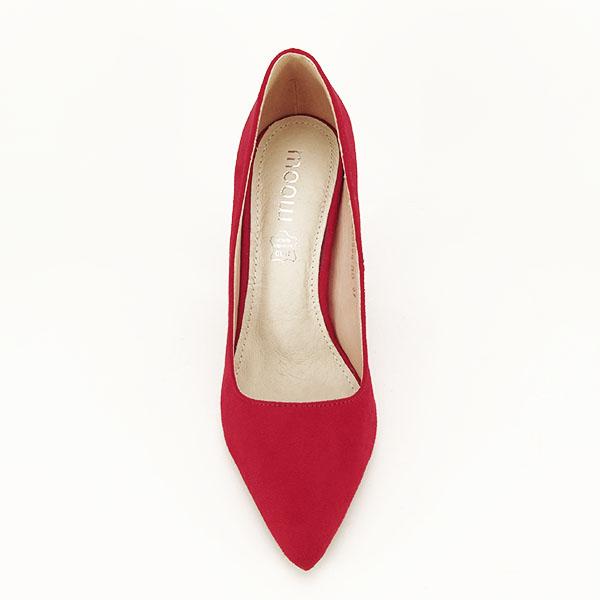 Pantofi cu toc rosii Leila [1]