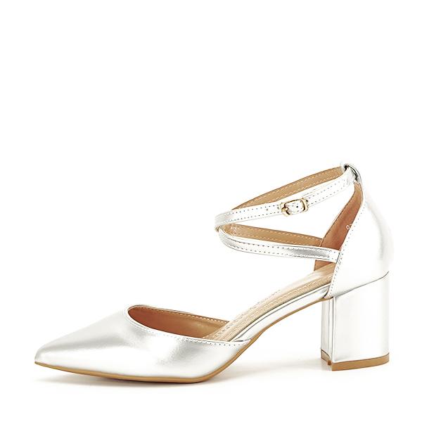 Pantofi eleganti argintii Lola [1]