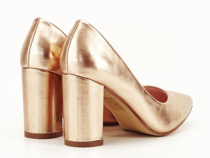 Pantofi eleganti champagne Ariana 5