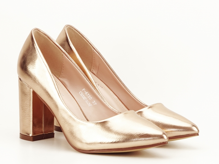 Pantofi eleganti champagne Ariana 3