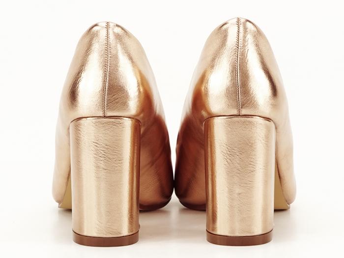 Pantofi eleganti champagne Ariana 4