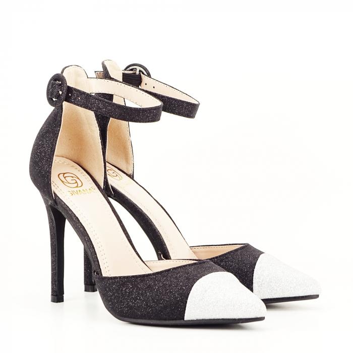 Pantofi eleganti cu bareta Gina 4