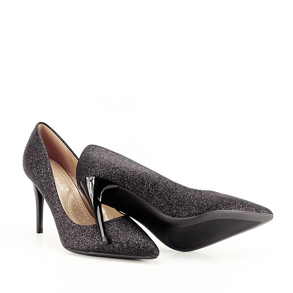 Pantofi eleganti negri Claudia [7]