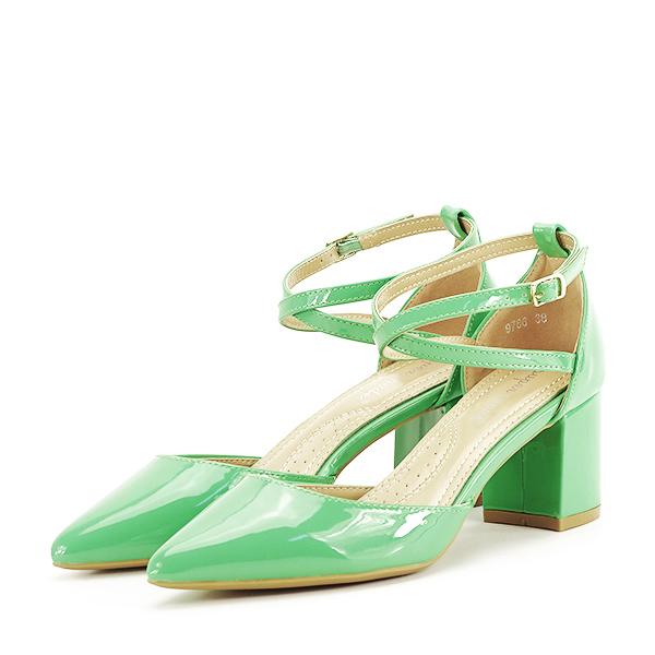 Pantofi eleganti verzi Lola [0]