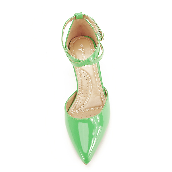 Pantofi eleganti verzi Lola [6]
