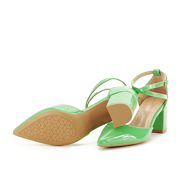 Pantofi eleganti verzi Lola [7]