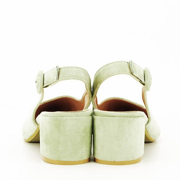 Pantofi fistic cu toc mic Simina [5]