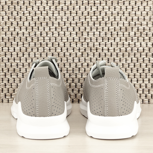 Pantofi piele naturala gri Angela [5]