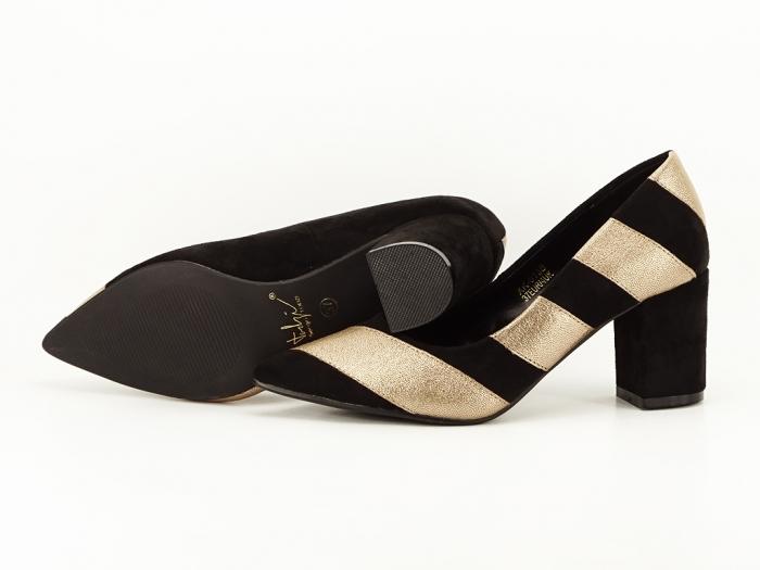 Pantofi eleganti in doua culori Eugenia 3