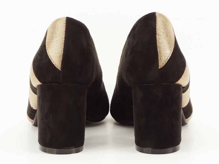 Pantofi eleganti in doua culori Eugenia 6