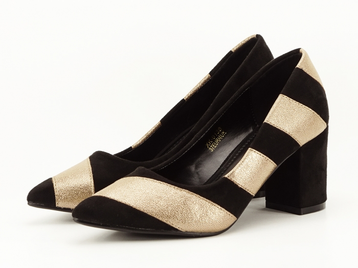 Pantofi eleganti in doua culori Eugenia 1