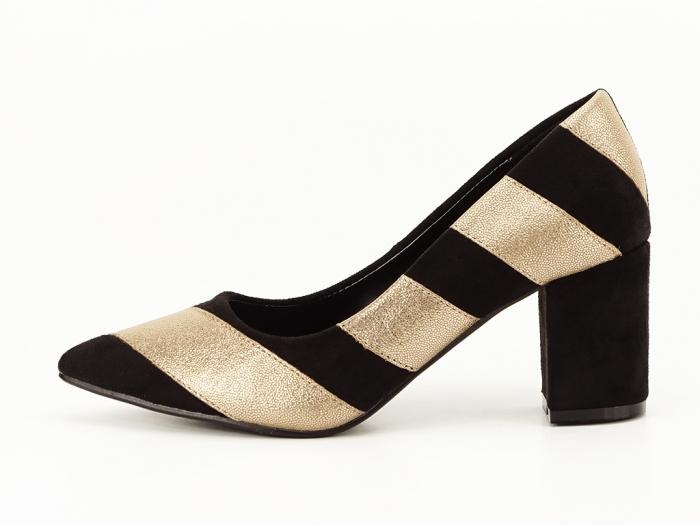 Pantofi eleganti in doua culori Eugenia 0