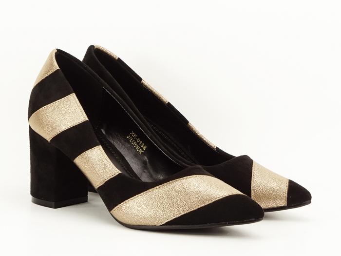 Pantofi eleganti in doua culori Eugenia 2