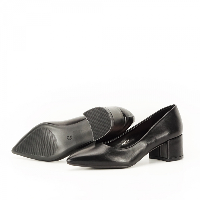 Pantofi negri Anita 7