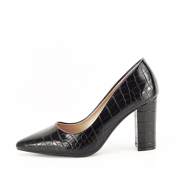Pantofi negri cu imprimeu Dalma 2 [0]