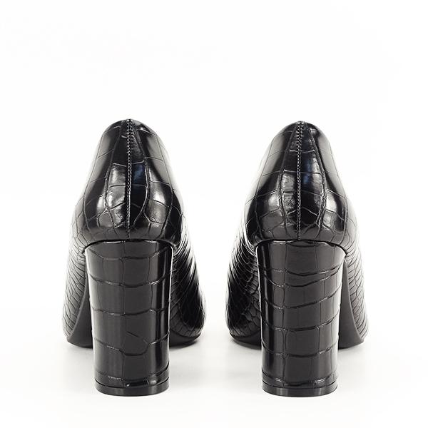 Pantofi negri cu imprimeu Dalma 2 [5]