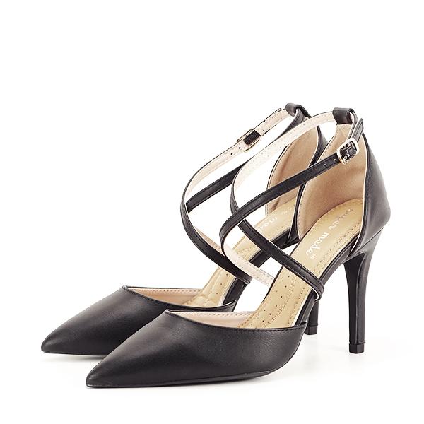 Pantofi negri cu toc cui Zoe [0]