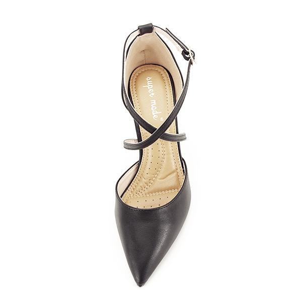 Pantofi negri cu toc cui Zoe [6]