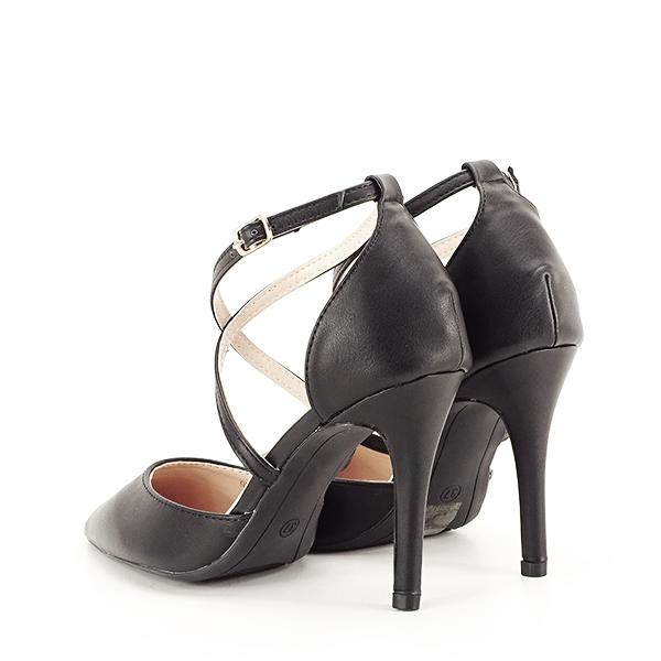 Pantofi negri cu toc cui Zoe [3]