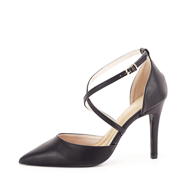 Pantofi negri cu toc cui Zoe [1]