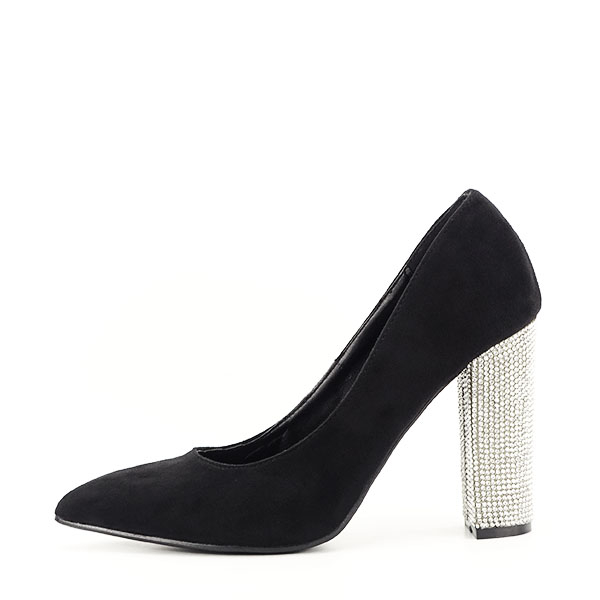 Pantofi negri cu toc Debbie 0