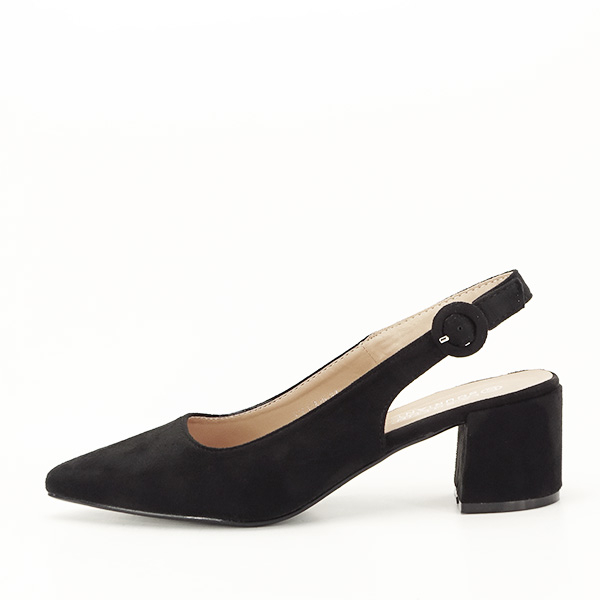 Pantofi negri cu toc mic Simina [0]
