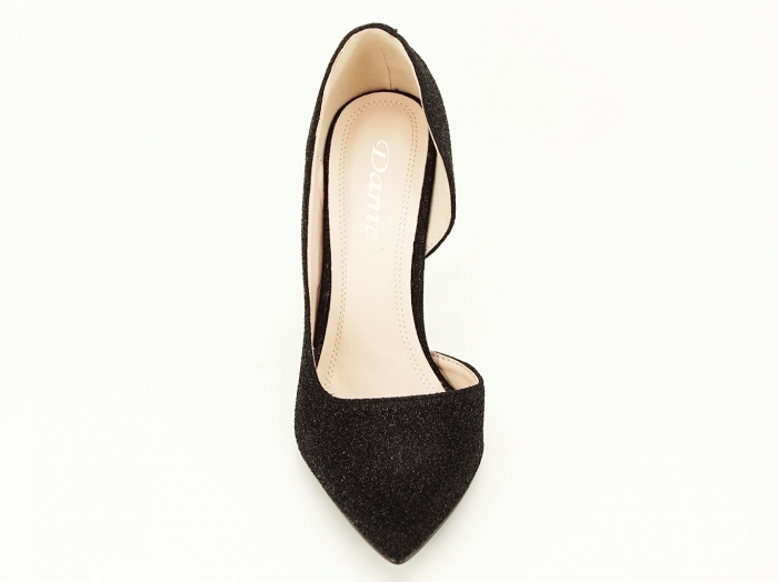Pantofi dama negri stiletto decupati lateral Dream 4