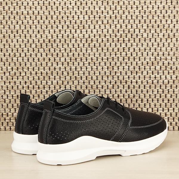 Pantofi piele naturala negri Angela [4]