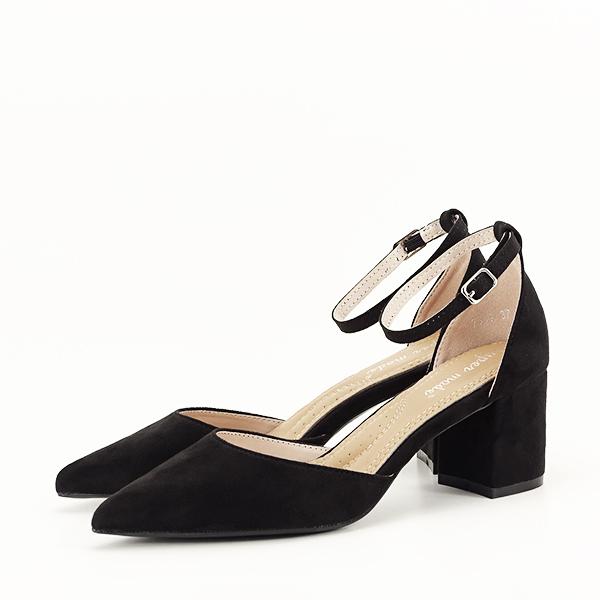 Pantofi negri eleganti Larisa [0]
