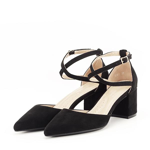 Pantofi negri eleganti Petra [0]