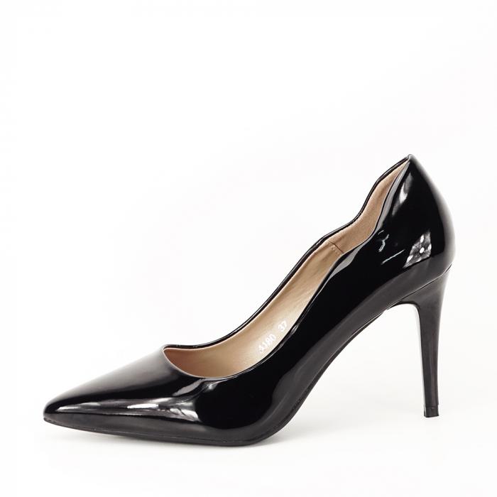 Pantofi negri lacuiti Tiffany 0
